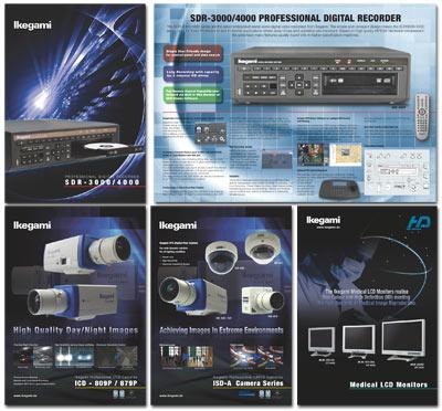 Ikegami Europe Broschures